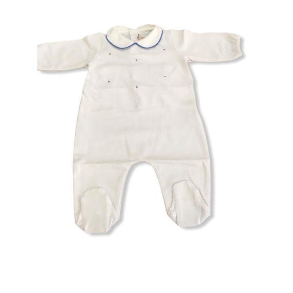 Little Bear tutina bianca per neonato