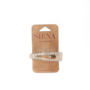 Fermaglio Siena Con Perle Per Bambina
