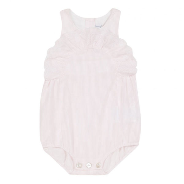 tartine et chocolate-outlet-bambini-combinaison-courte-rose-pale-rayee-a-volants