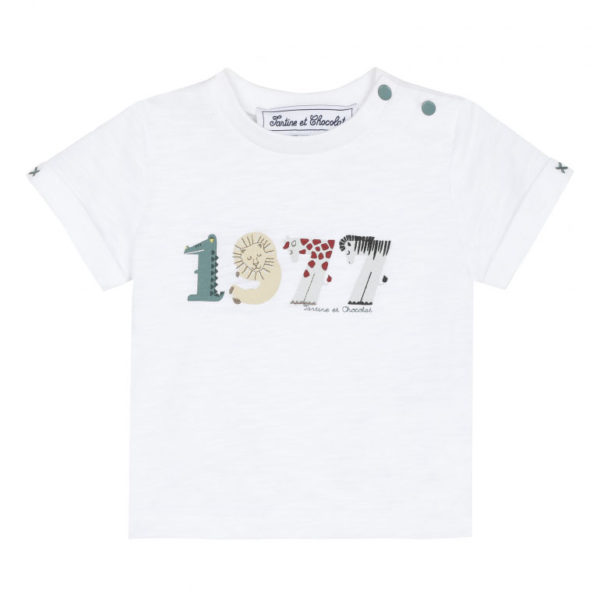 tartine et chocolate-outlet-bambini-t-shirt-blanc-1977