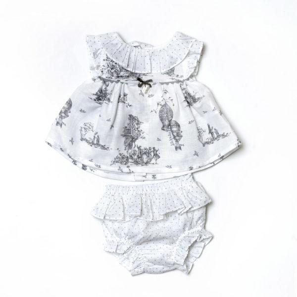 Martin-Aranda-vestiti-per-bambine-abitino-bianco-fantasia