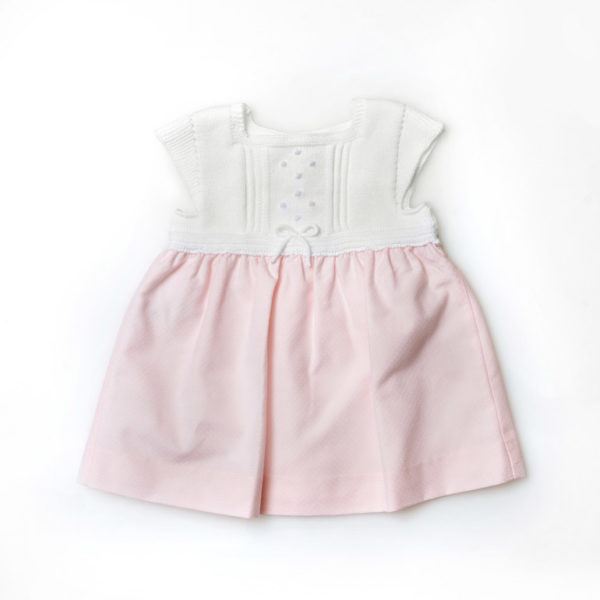 Martin-Aranda-vestiti-per-bambine-abitino-rosa-romantico