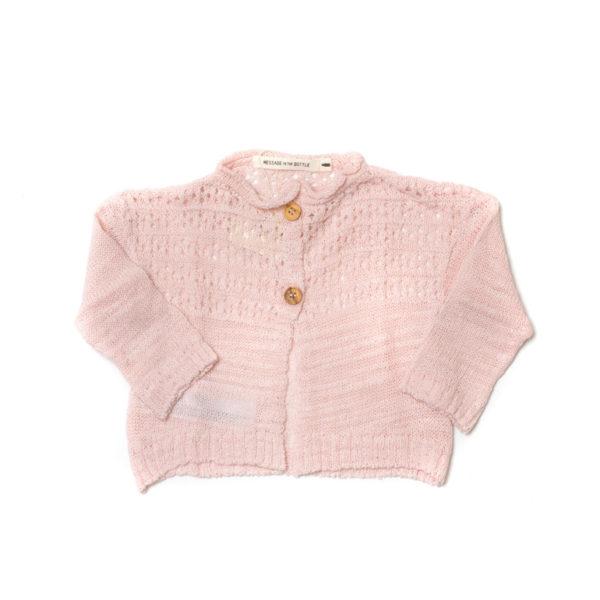 Message-in-the-bottle-abbigliamento-bambini-online-cardigan-rosa