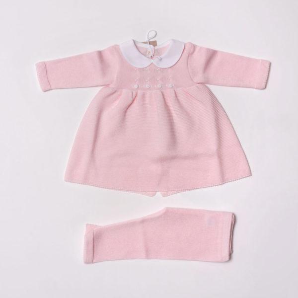 Abbigliamento-bambini-Baby-Lord-Abito-rosa-bimbe