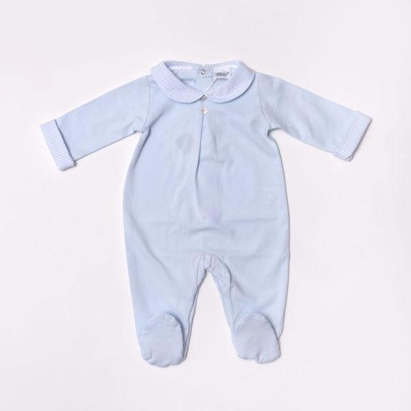 Abbigliamento-bambini-Baroni-Firenze-tutina-azzurra-maschietto