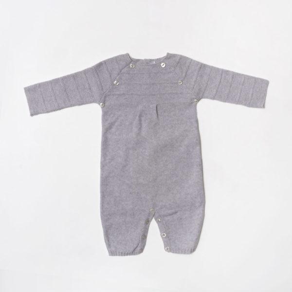 Abbigliamento-bambini-Martin-Aranda-tutina-grigia-tinta-unica