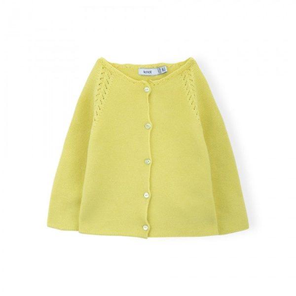 Abbigliamento-bambini-online-Knot-maglia-gialla-fluo