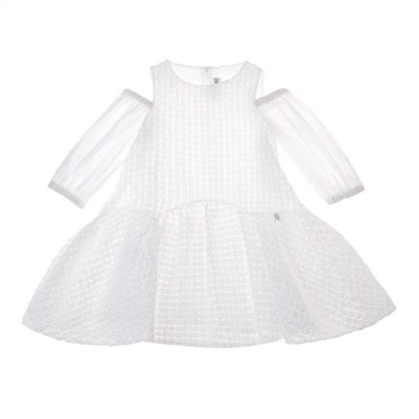Abbigliamento-bambini-simonetta-abito-grigio