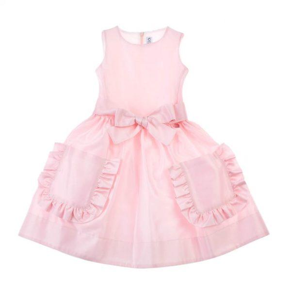 Abbigliamento-bambini-simonetta-abito-rosa
