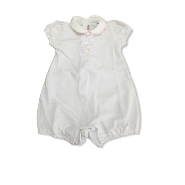 Little Bear vestiti per neonati pagliaccetto bianco