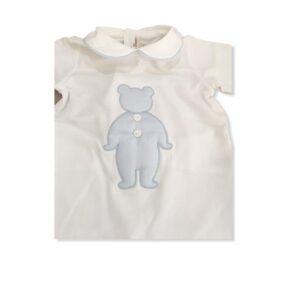 Dettagli Little Bear Tutina Neonato Con Orsetto Blu
