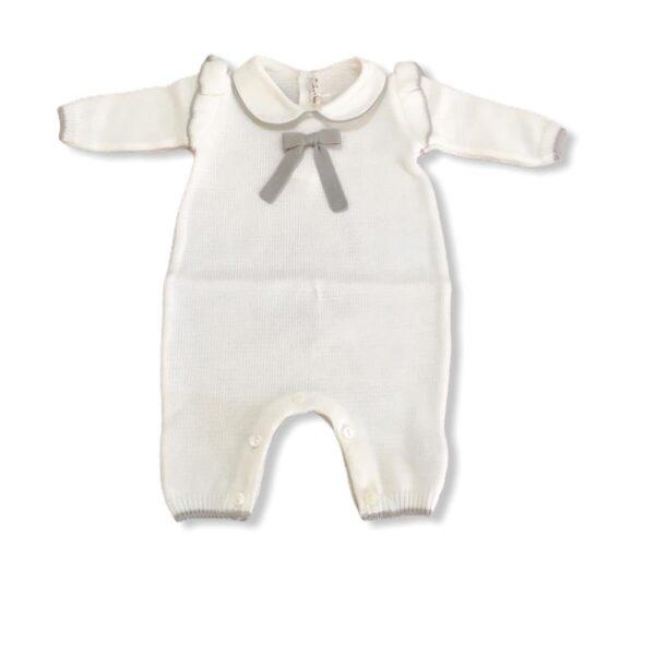 Little bear tutina per neonato grigia