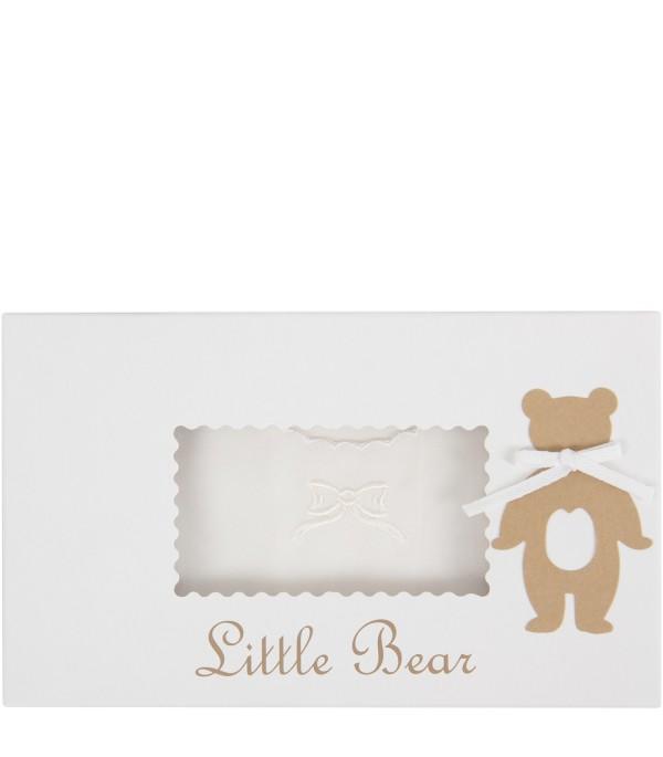 Little Bear neonati camicetta della fortuna avorio