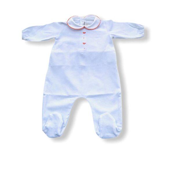 Little Bear abbigliamento neonato online tutina azzurra