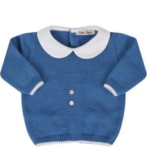 Little Bear Completino Blu Per Neonati