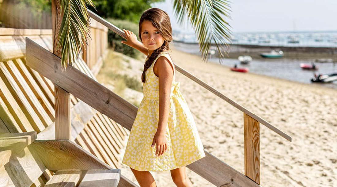Tartine et chocolat vestiti bambine estate vendita online