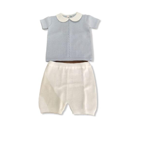 Vestiti per bambini Babylord azzurro e bianco