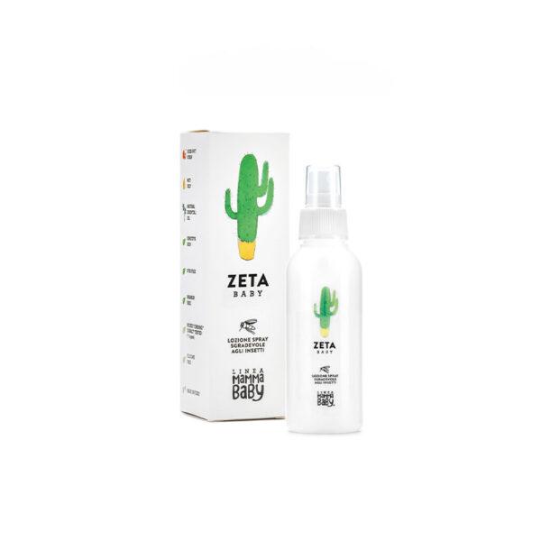 Lozione spray anti insetti per il tuo bebè