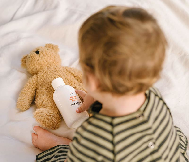 Linea Mamma Baby per la cura del corpo dei bimbi