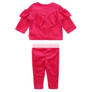 Billieblush Abbigliamento Bambina Completo Fucsia Shopping Online