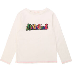 BILLIEBLUSH T-shirt In Cotone Con Patch