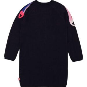 Billieblush Abbigliamento Bambina Maglioncino Con Stelle E Cuori Colorati Retro