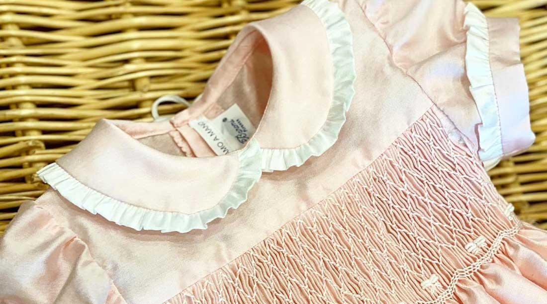 Abbigliamento Bambina Abitino Baroni Firenze Rosa