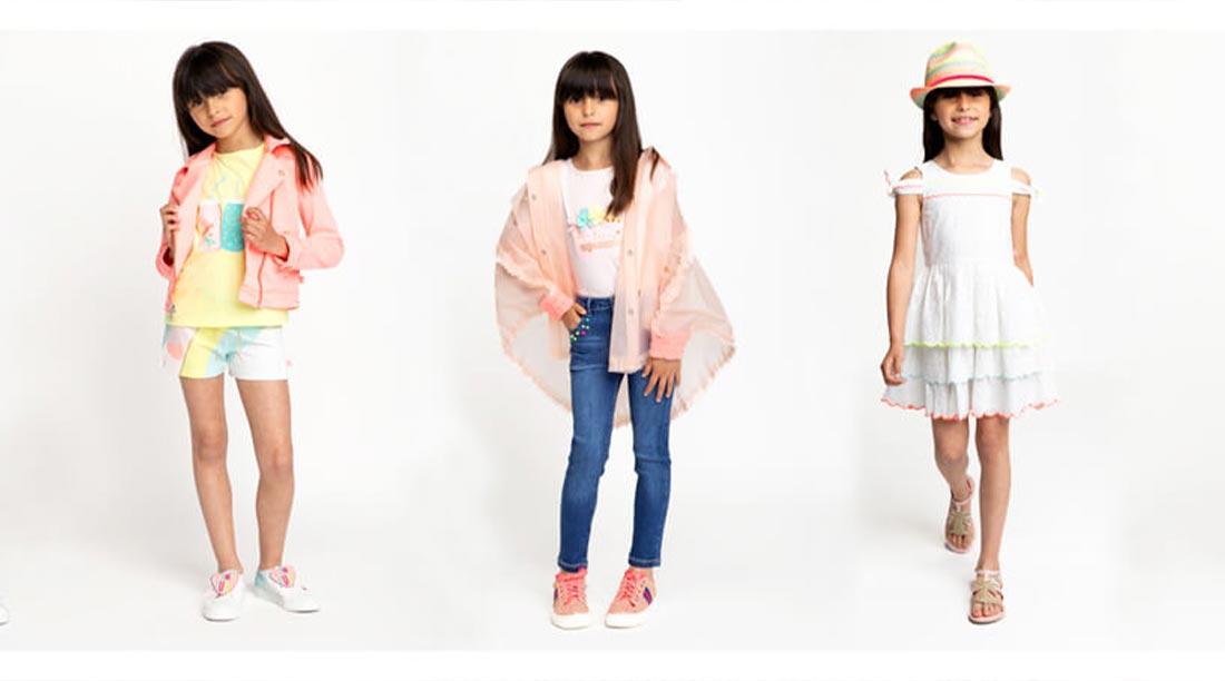 Abbigliamento bambina look diversi