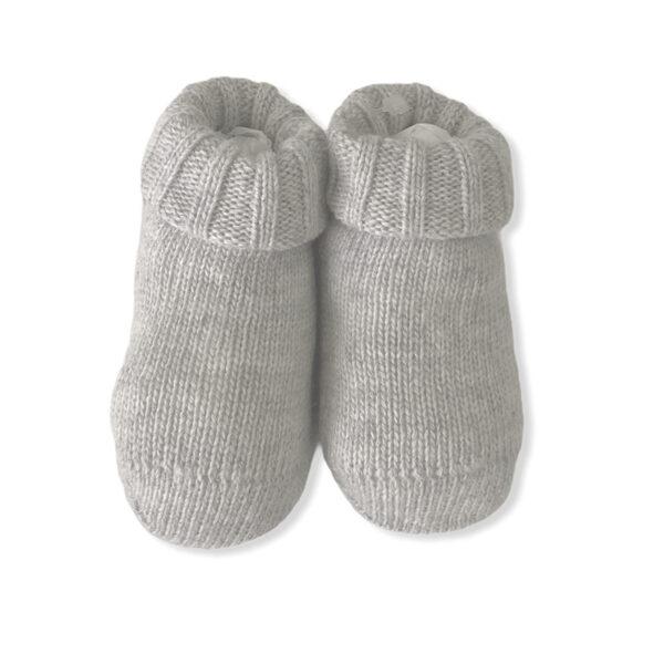 Baby Lord scarpine grigio tortora per neonata