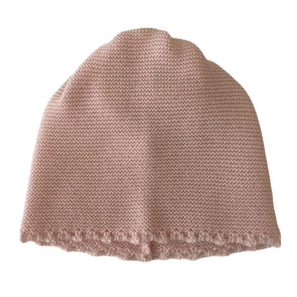 Baby Lord cappellino rosa ricamato per neonati