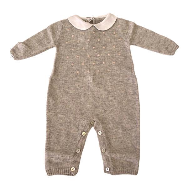 Baby Lord tutina per neonato grigia