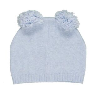 Nanan Abbigliamento Bambini Cappellino Azzurro Con Pompon Retro