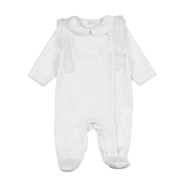 Nanan outlet tutina bianca per neonati
