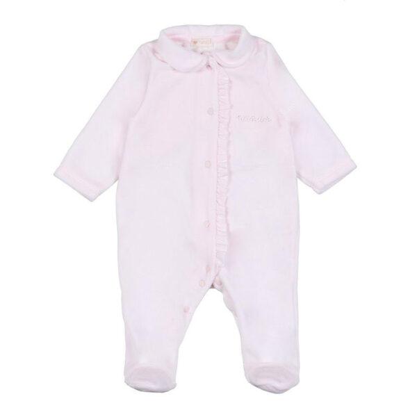 Nanan outlet tutina rosa per neonata con bottoncini