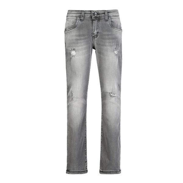 Paola Pecora jeans grigi washed