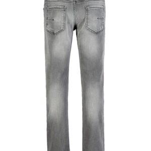 Paola Pecora Jeans Grigi Washed Vista Retro