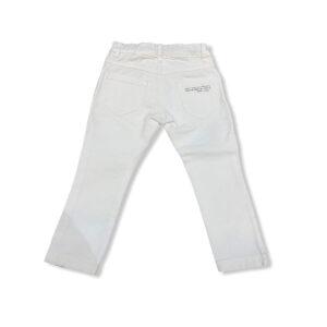 Paolo Pecora Outlet Pantalone Bianco