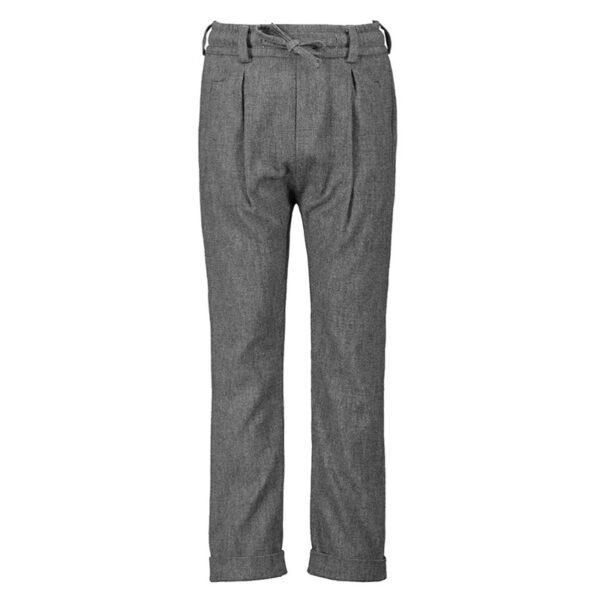 Paola Pecora pantaloni lunghi grigi