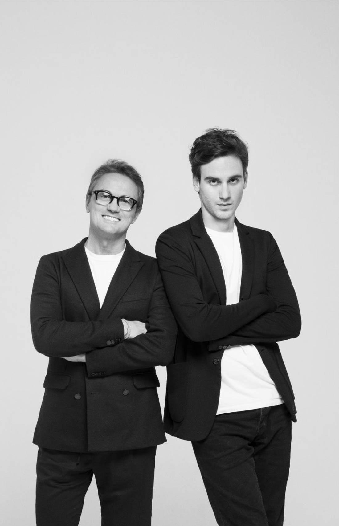 Paolo e Filippo Pecora abbigliamento junior