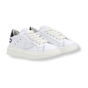 Philippe Model Scarpe Bianche E Nere Modello Sneakers