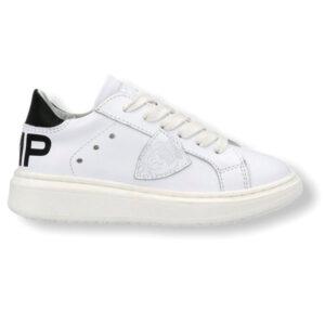 PHILIPPE MODEL Granville Pmp Veau – Blanc Noir