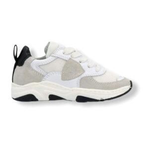 Philippe Model Scarpe Bianche E Beige Modello Sneakers