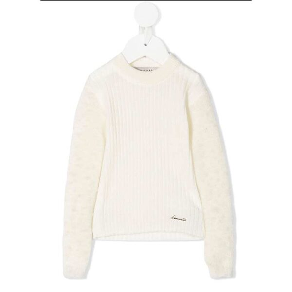 Simonetta maglione donna bianco