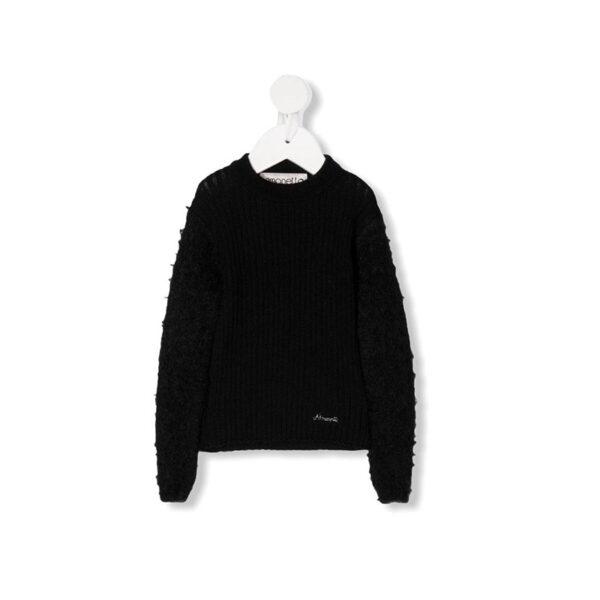 Simonetta maglione nero per donna
