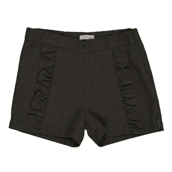 Nanan abbigliamento bambini shorts grigi