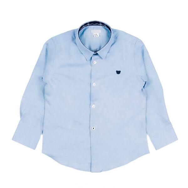 Nanan bambini camicia azzurra