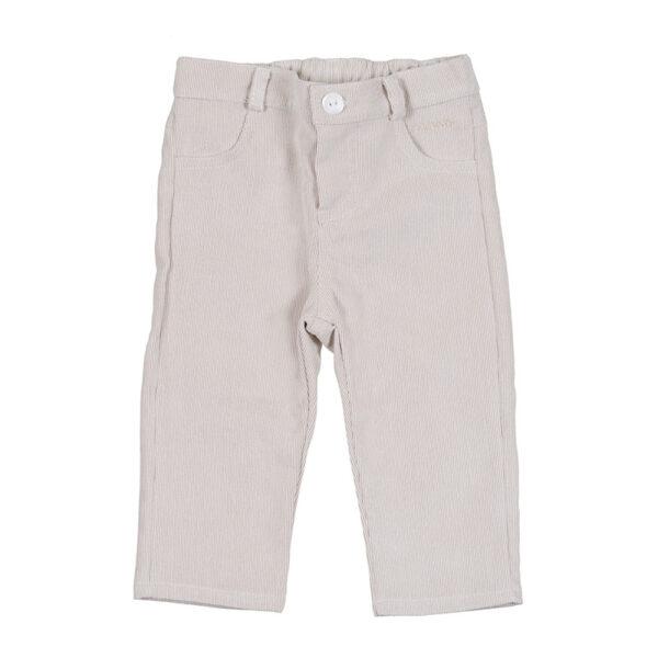 Nana abbigliamento bambini pantalone velluto beige