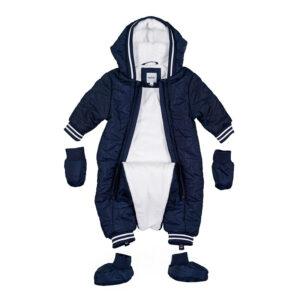 Nana Abbigliamento Neonato Tutone Imbottito Blu