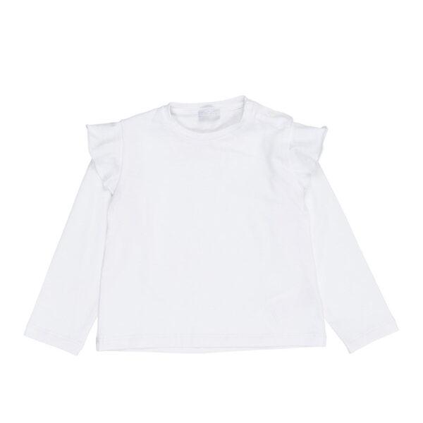 Nanan t-shirt bianca con rouge