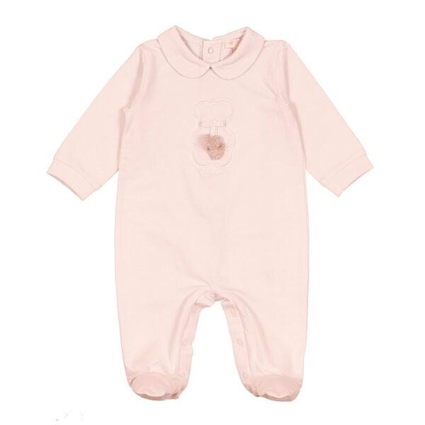Nanan tutina per neonato rosa con cuoricino